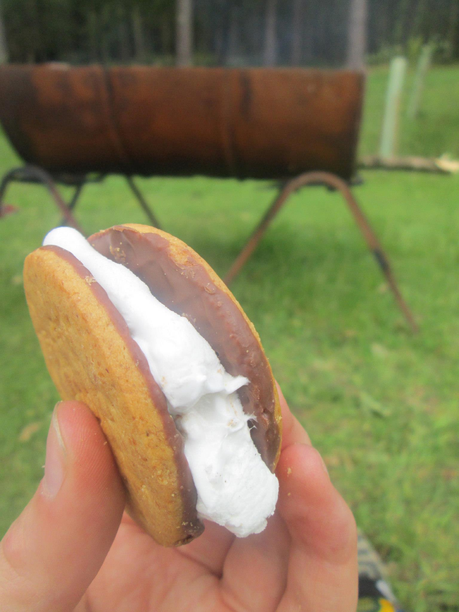 First Smore of Camp