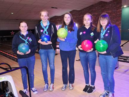 Seniors bowling team