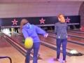 Bowling action shot